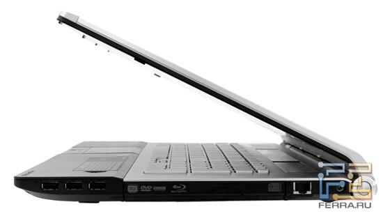 Соотношение толщины основной части и крышки Acer Aspire 8943G