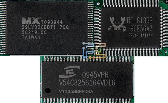 В основе роутера TRENDNet - чип RTL8196B со встроенным 330-МГц процессором типа RISC