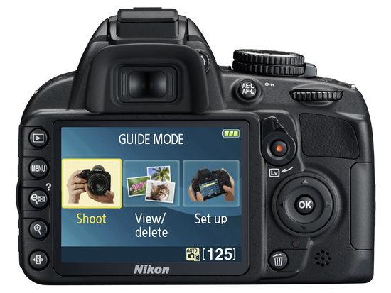 Guide Mode на экране Nikon D3100