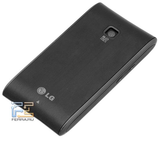 LG Optimus – задняя панель
