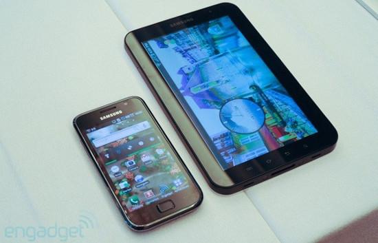 Samsung Galaxy S и Galaxy Tab