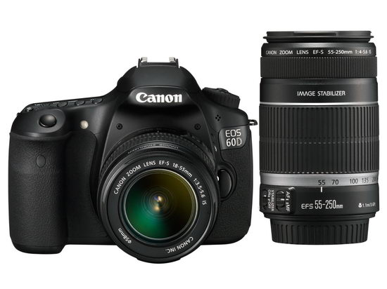 Canon EOS 60D и объективы 18-55/3.5-5.6 и 55-250/4-5.6