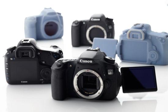 Canon EOS 60D - первая камера Canon с поворотным экраном