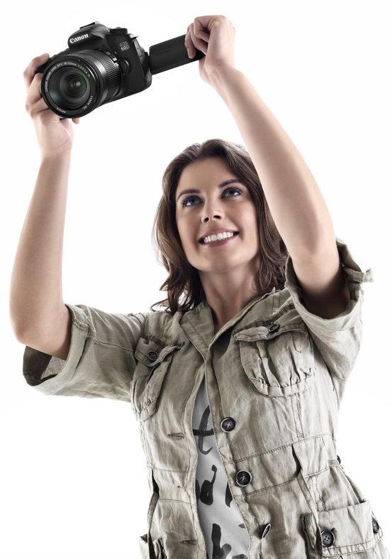 Так разрешается снимать, используя преимущества поворотного экрана Canon EOS 60D