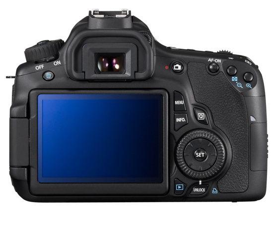 Обратите внимание, как очень изменилась задняя панель Canon EOS 60D по сравнению с EOS 50D