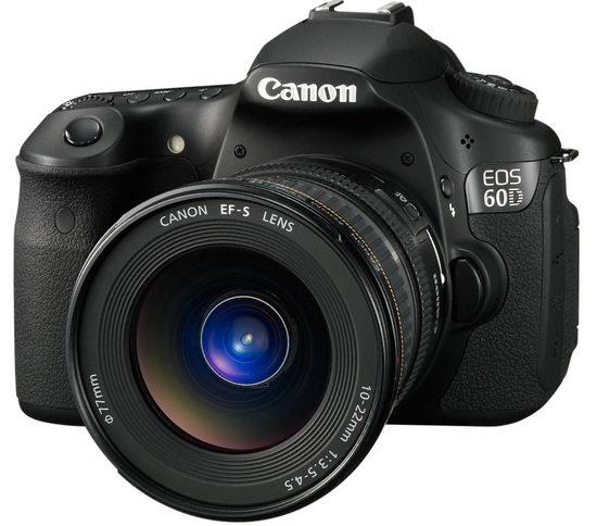 Canon EOS 60D с объективом 10-22/3.5-4.5