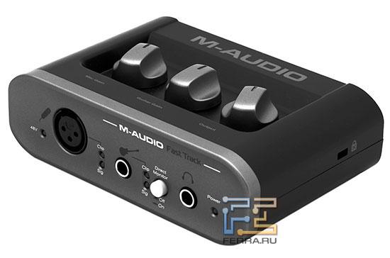 Ferra.ru - Обзор внешней USB-совместимой звуковой карты M-Audio ...