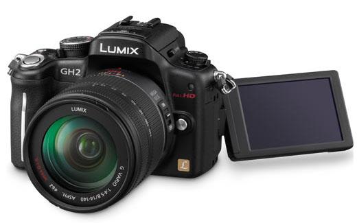 Общий картина камеры Lumix GH2
