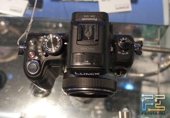 Верхняя доля корпуса Panasonic Lumix GH2
