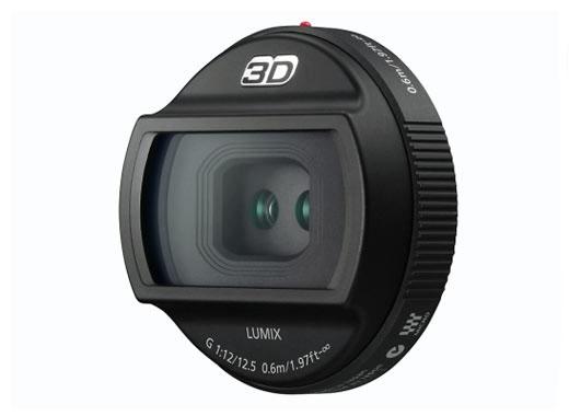Объектив Lumix G 12.5/12, предназначенный для съемки 3D