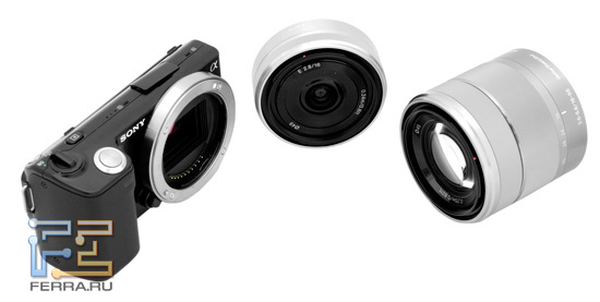 Sony NEX 5 и объективы E 16mm F/2.8 и E 18-55 F/3.5-5.6