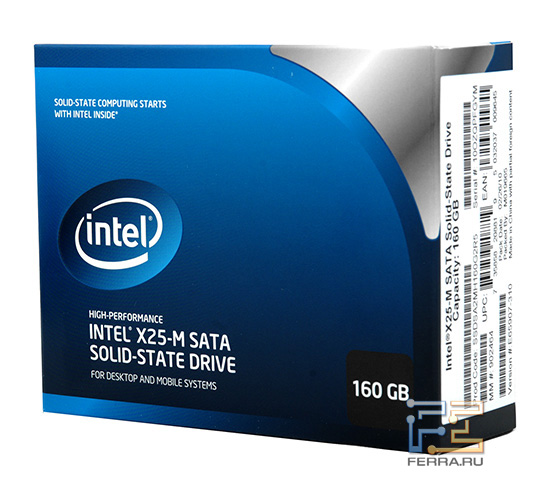 Retail �������� Intel X25-M G2 160 GB