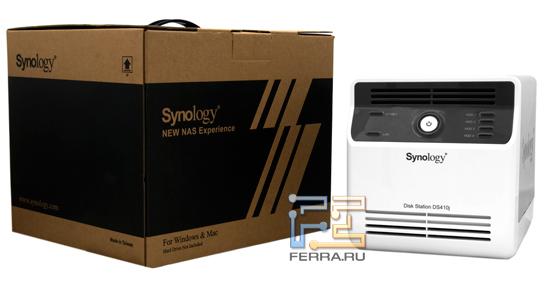 Комплект поставки NAS Synology DS410j