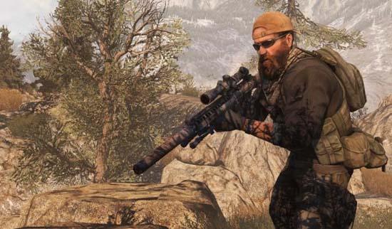 Вот этот бородач – главный герой Medal of Honor
