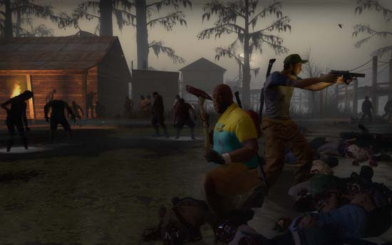 Круговая оборона в Left 4 Dead 2 – залог выживания