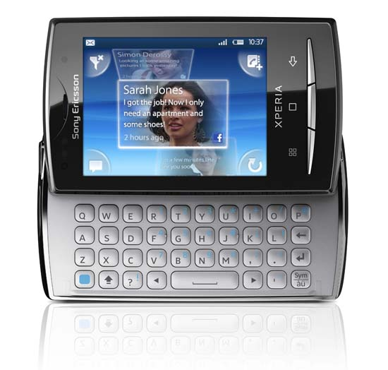 Sony Ericsson Xperia X10 mini pro � ����������� ����