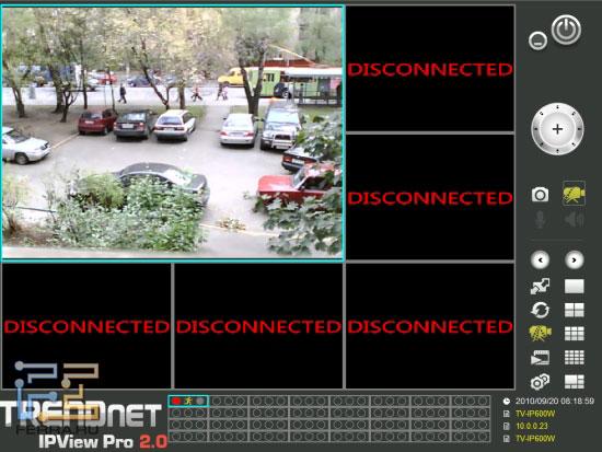 Красный кружок у камеры информирует о включенной записи