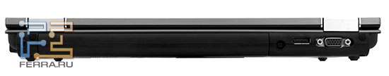 Мало у каких современных ноутбуках на задней панели есть что-то, кроме батареи