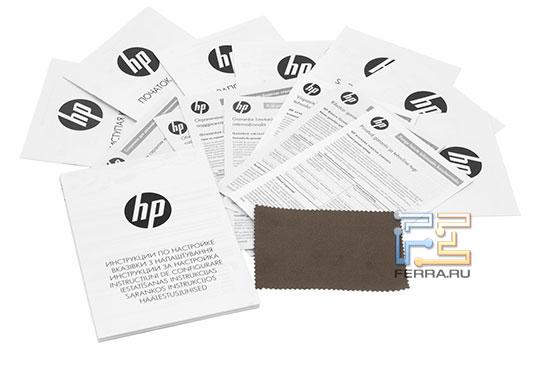 Комплект поставки HP ProBook 5230m