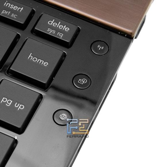 Дополнительные кнопки HP ProBook 5230m