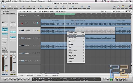 Ковертация аудио-дорожки в сэмплерный трек