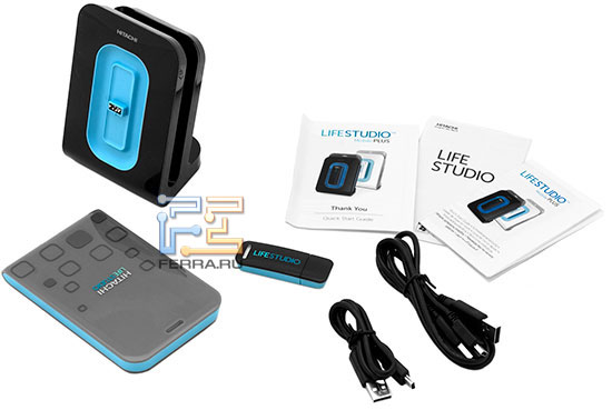 Полный комплект поставки Hitachi LifeStudio Mobile Plus