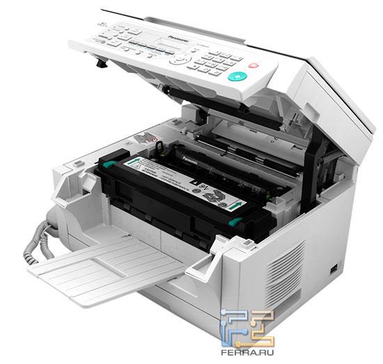 Конструктив Panasonic KX-MB2020 не внушает опасений
