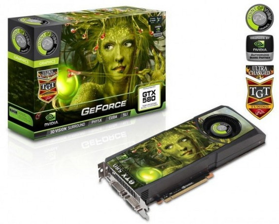GeForce GTX 580 Ultra Charged
