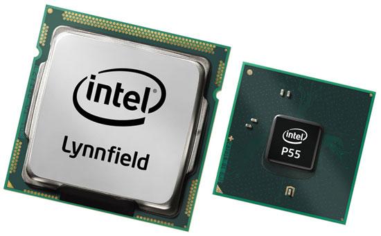 Процессор Lynnfield рядом с единственным мостом чипсета - впервые для Intel
