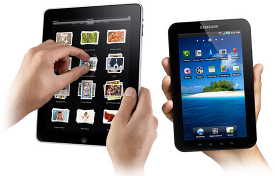 iPad � Samsung Galaxy Tab