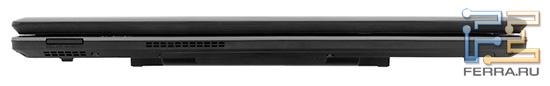 Передний торец Acer Aspire 5745DG: карт-ридер