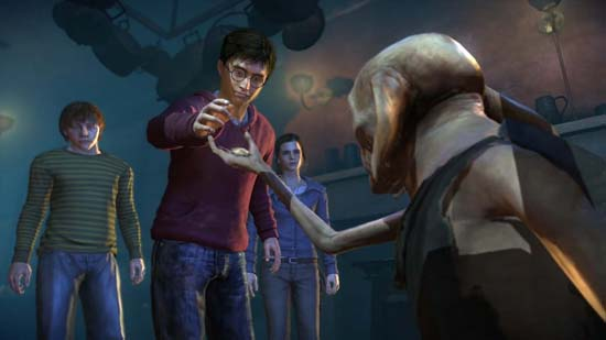 Harry Potter and the Deathly Hallows: Part 1 – Подаркам рады все