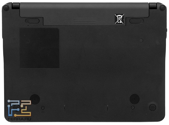 Toshiba AC100: вид снизу
