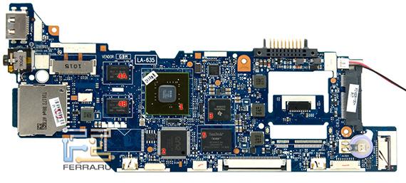 Материнская плата и компоненты Toshiba AC100
