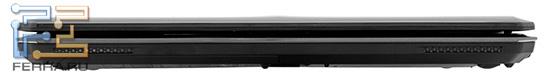Передняя грань MSI GX660