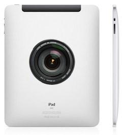 Макет iPad 2 с камерой