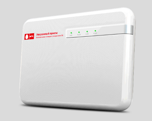 Уверенный прием» обеспечит качественную 3G-связь в