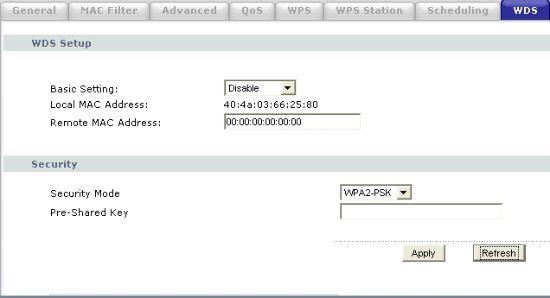 Для связи точек доступа в WDS нужно знать их аппаратные адреса, а также настроить на один канал и единственный идентификатор сети SSID