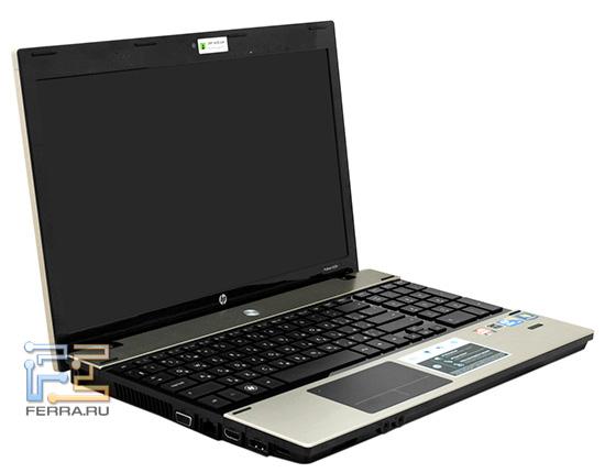 HP ProBook 4520s в открытом состоянии