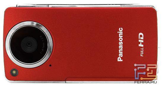 Panasonic HM-TA1 - вид спереди