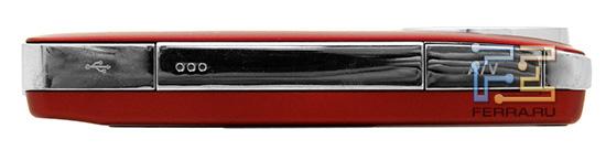 Левая боковая грань Panasonic HM-TA1