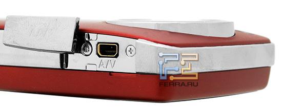 A/V-выход на корпусе Panasonic HM-TA1