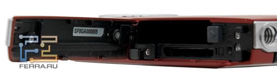 Батарейный отсек Panasonic HM-TA1
