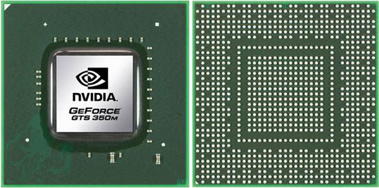 NVIDIA GeForce GTS 350M