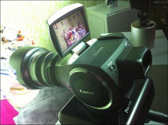 Концепт фото-видеокамеры Canon