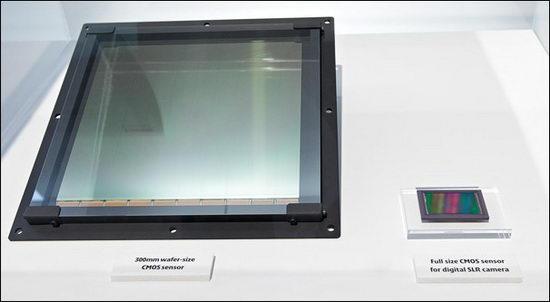Самый большой в мире CMOS-сенсор производства Canon в сравнении с полноформатной матрицей