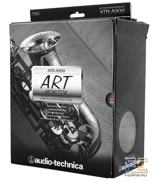 Audio-Technica ATH A900 - наушники Hi-Fi класса