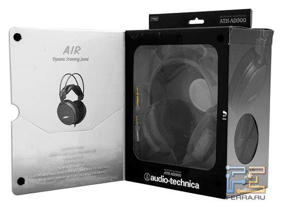 Оригинальная коробка Audio-Technica ATH AD900