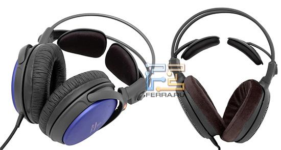 Наушники Audio-Technica ATH A900 и AD900 - соединение приятного снаружи дизайна и практичности