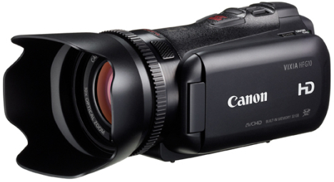 Semiprofessional camcorders from Canon and Sony